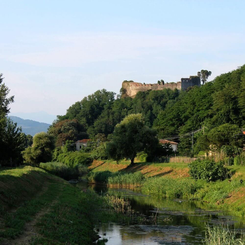 La Rocca e il canale Ozzeri