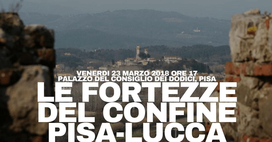 """23 MAR 2018: Conferenza di presentazione del progetto """"Fortezze di Confine"""""""