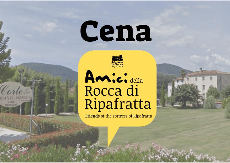 """14 APRILE 2019: Cena degli """"Amici della Rocca"""""""