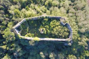 La Rocca di Ripafratta dall'alto