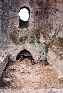 Gli scavi archeologici riportano alla luce l'accesso medievale